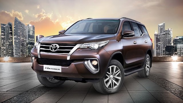 All New Fortuner with Toyota Genuine Accessories