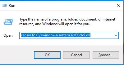 Télécharger D3dx9.dll Fichier Gratuit Installer