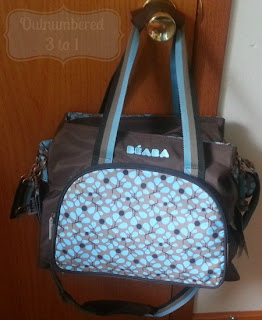 This Diaper Bag Comes Fully Equipped With Water Resistant Fabric In Your Choice Of Pink Or Blue Beautiful Stainless Steel Hardware A Zippered Front