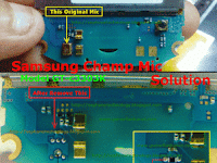 Jumper jalur Mic  Samsung 3303i 100% OK