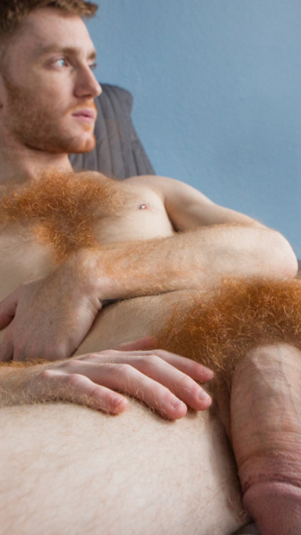 You inquisitive Hairy ginger men cock