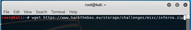 Hack The Box Challenge: Inferno