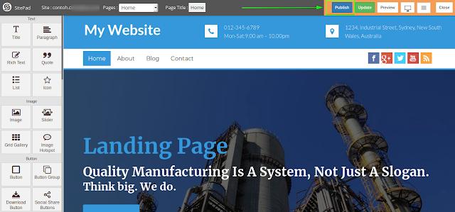 Cara Membuat Website Landing Page Dengan Mudah Di Cpanel