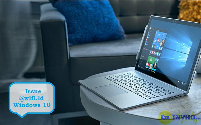 Cara Atasi @wifi.id Tidak Bisa Connect di Windows 10