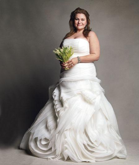 David Bridal Bridesmaid Dresses Plus Size: Conservatory Girl: White By Vera Wang