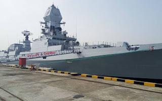 جنگی جہاز آئی این ایس چینائی کو آج ہندوستانی بحریہ میں شامل کرلیا گیا