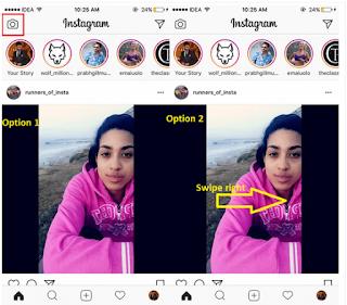Cara Menggunakan atau Membuat Lokasi dan Hashtags Instagram Stories