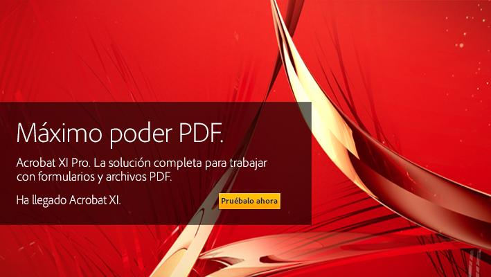 Adobe Acrobat XI Pro v11.0.22 + Portable [Crear, firmar y compartir archivos PDF] Español Full Crack