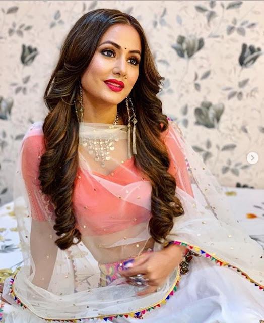 Hina Khan Shares Komolika Look - Kasauti Zindagi Kay 2