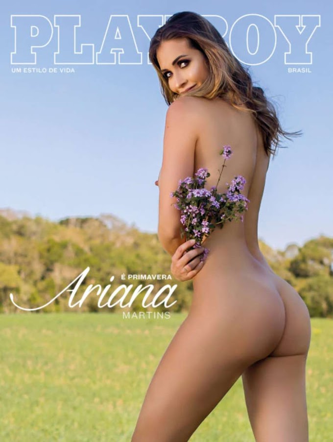 Ariana Martins: Playboy's First Deaf Cover Model