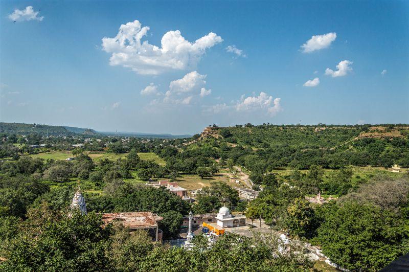 View from Kandhagiri caves