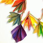 Gorgeous Accordion Fold Leaves