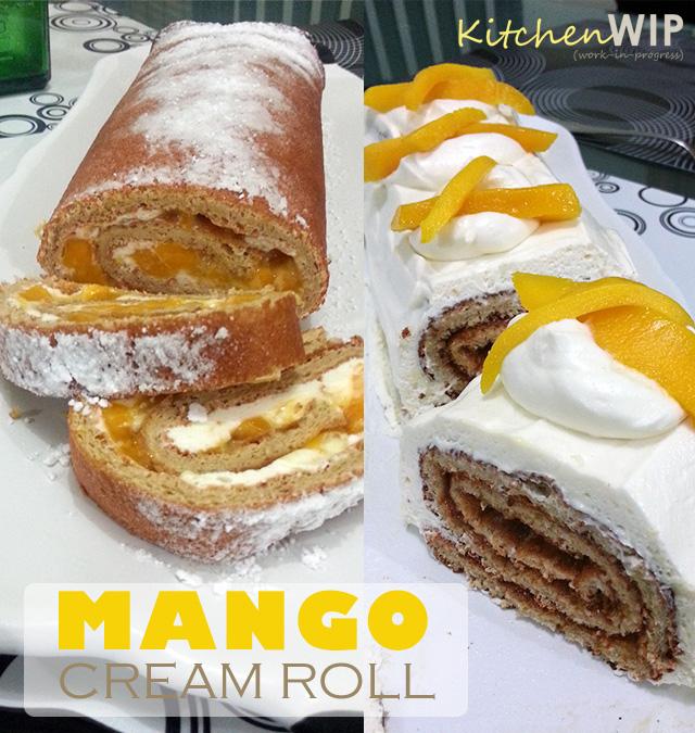 Recipe  Mango Cream Roll