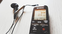 Sony Voice Recorder and Olympus ME 52 W Lapel Microphone
