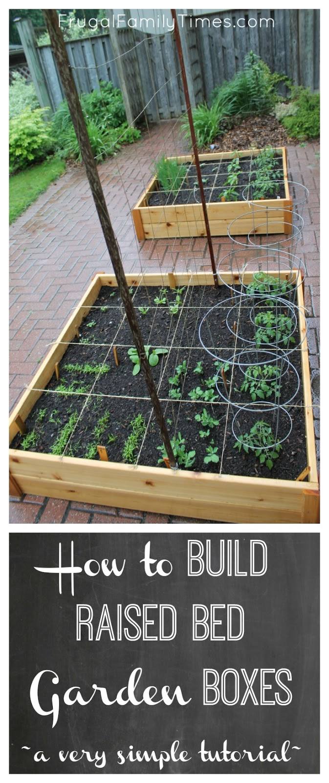 How to build raised garden bed boxes growing vegetables for Creating a vegetable garden