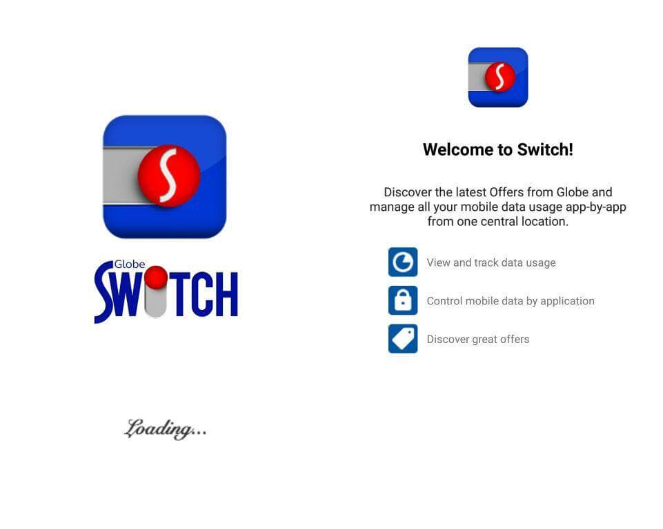 How to use globe switch app to get free internet and promo for Globe tattoo internet load