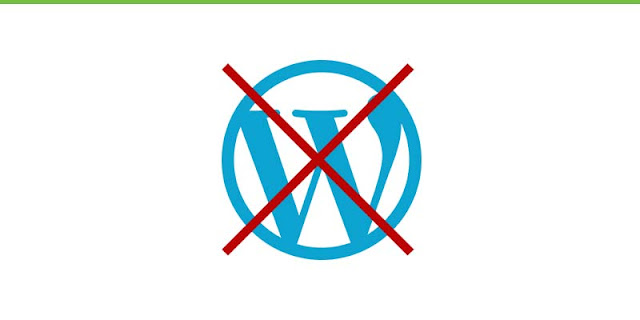 Avoid wordpress
