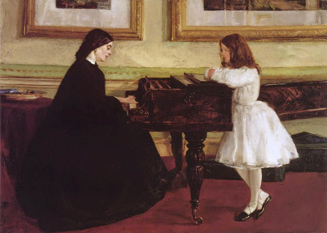 James McNeill Whistler, En el piano