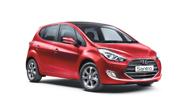 All-New 2018 Hyundai Santro Red Pics