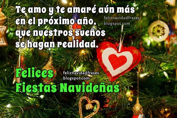 Feliz Navidad Mi Amor Frases