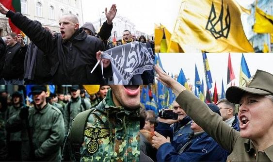 Resultado de imagen de SIGLO XXI nazismo en Polonia, Ucrania y los Países Bálticos