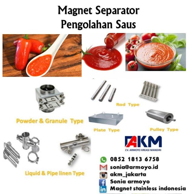 magnet separator saus