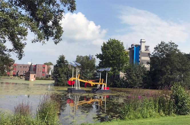 Um die Ecke im Kultur- und Shopping-Paradies Enschede / Mo'Beads / Monika Thiede