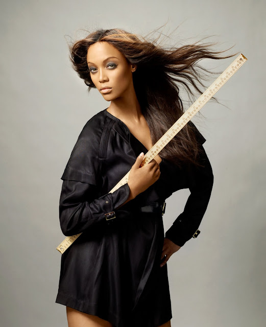 Tyra Banks On The Runway: Models Inspiration: Tyra Banks (America's Next Top Model
