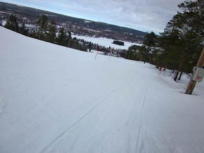 Ounasvaara hill in Lapland