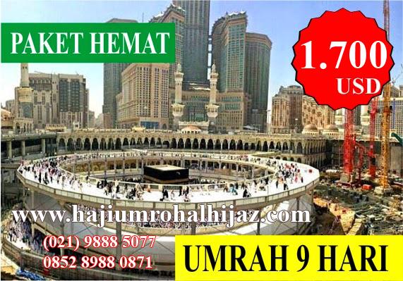 Paket Umroh 2016 Hemat AlHijaz Indowisata