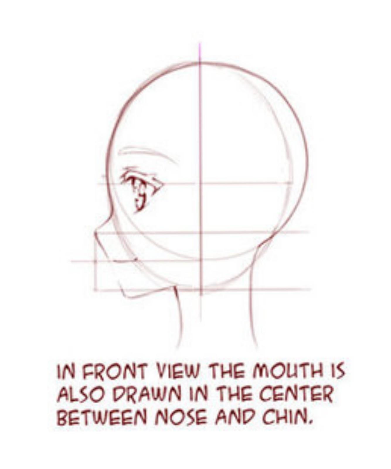 Tutorial Menggambar Wajah Anime dari Samping - Tutorial ...