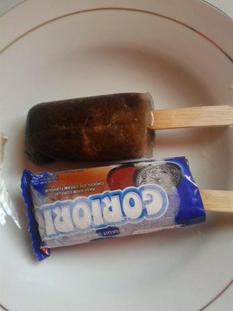 Cara Membuat Es Krim Rasa Goriorio Modal 10 Ribu Rupiah Yang Laris Manis