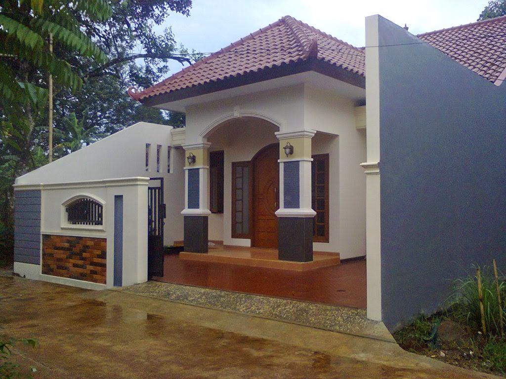 Teras Rumah Minimalis Klasik Modern Arsitekhom