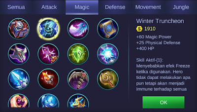 Winter Truncheon Mobile Legends
