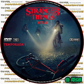 GALLETA 1  STRANGER THINGS - COSAS EXTRAÑAS - TEMPORADA 1 [COVER DVD]