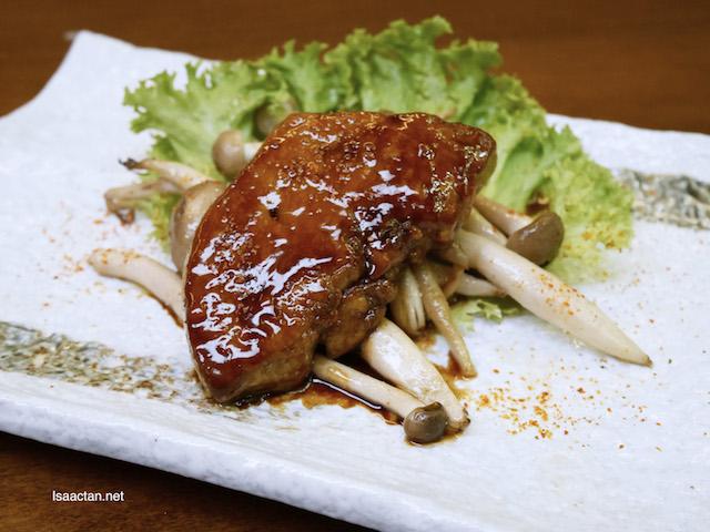 Foie Gras Teriyaki - RM48 (1pc), RM90 (2pcs)