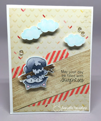 Raccoon Rascals | Newtons Nook Designs | Card Created by Danielle Pandeline