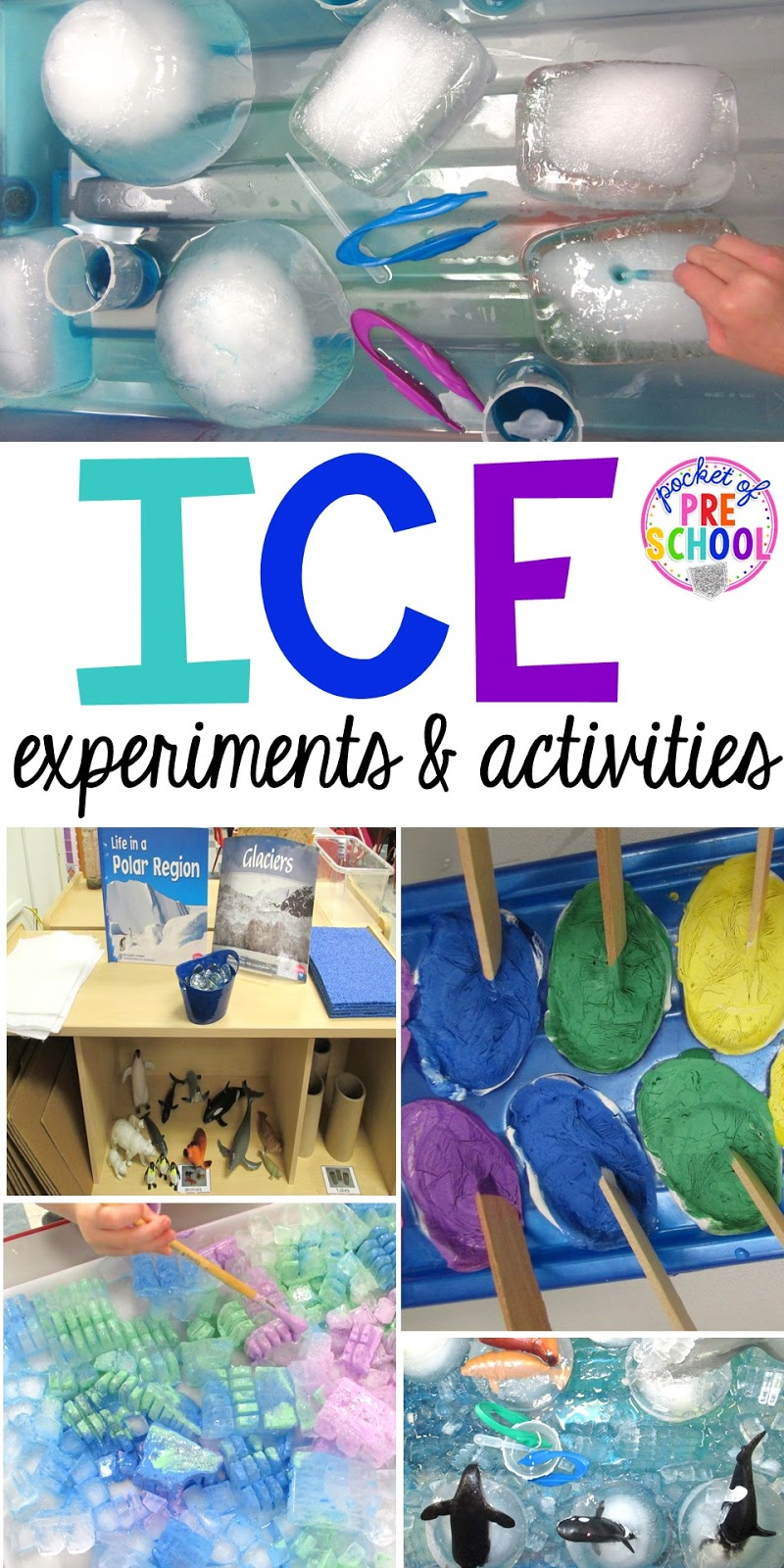 arctic ice activities and experiments pocket of preschool. Black Bedroom Furniture Sets. Home Design Ideas