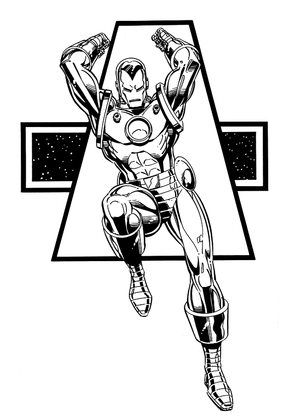 iron man coloring pages from the movie | Iron Man Coloring Pages Printable - Best Gift Ideas Blog