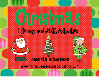 http://www.teacherspayteachers.com/Product/Christmas-Literacy-and-Math-Activities-170843