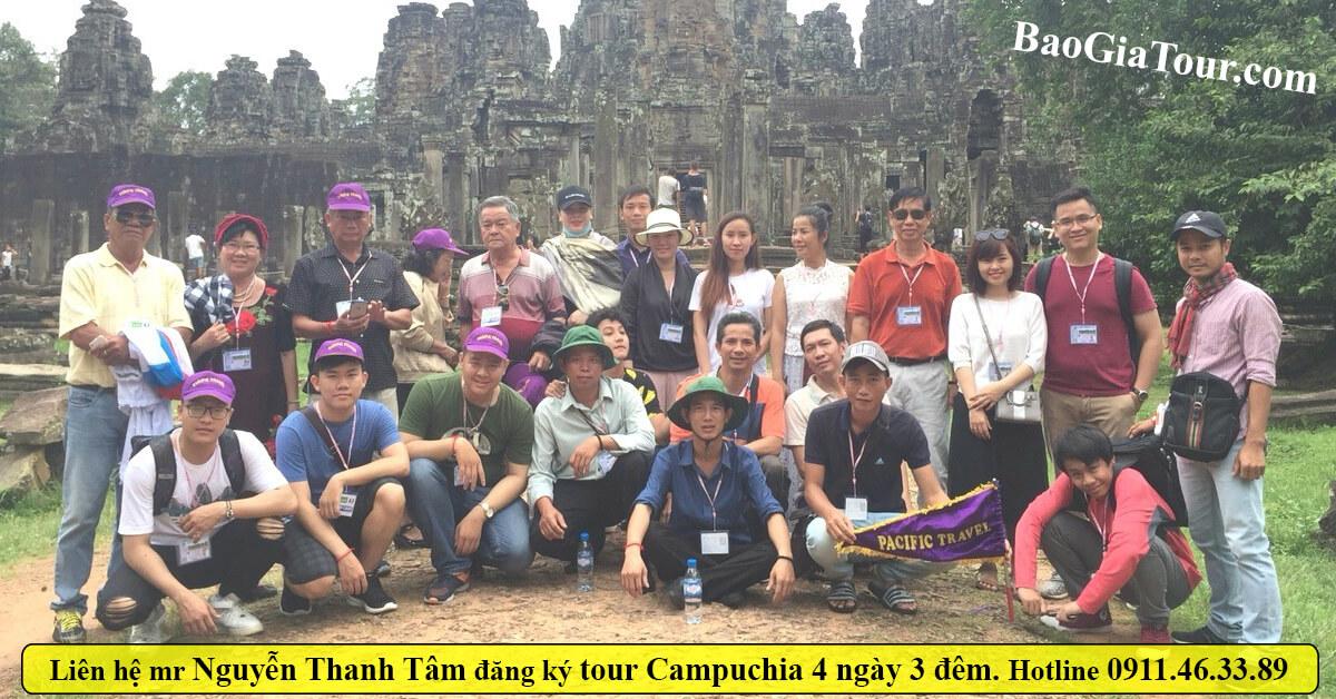 Báo giá tour Campuchia tháng 4 trọn gói 4 ngày 3 đêm