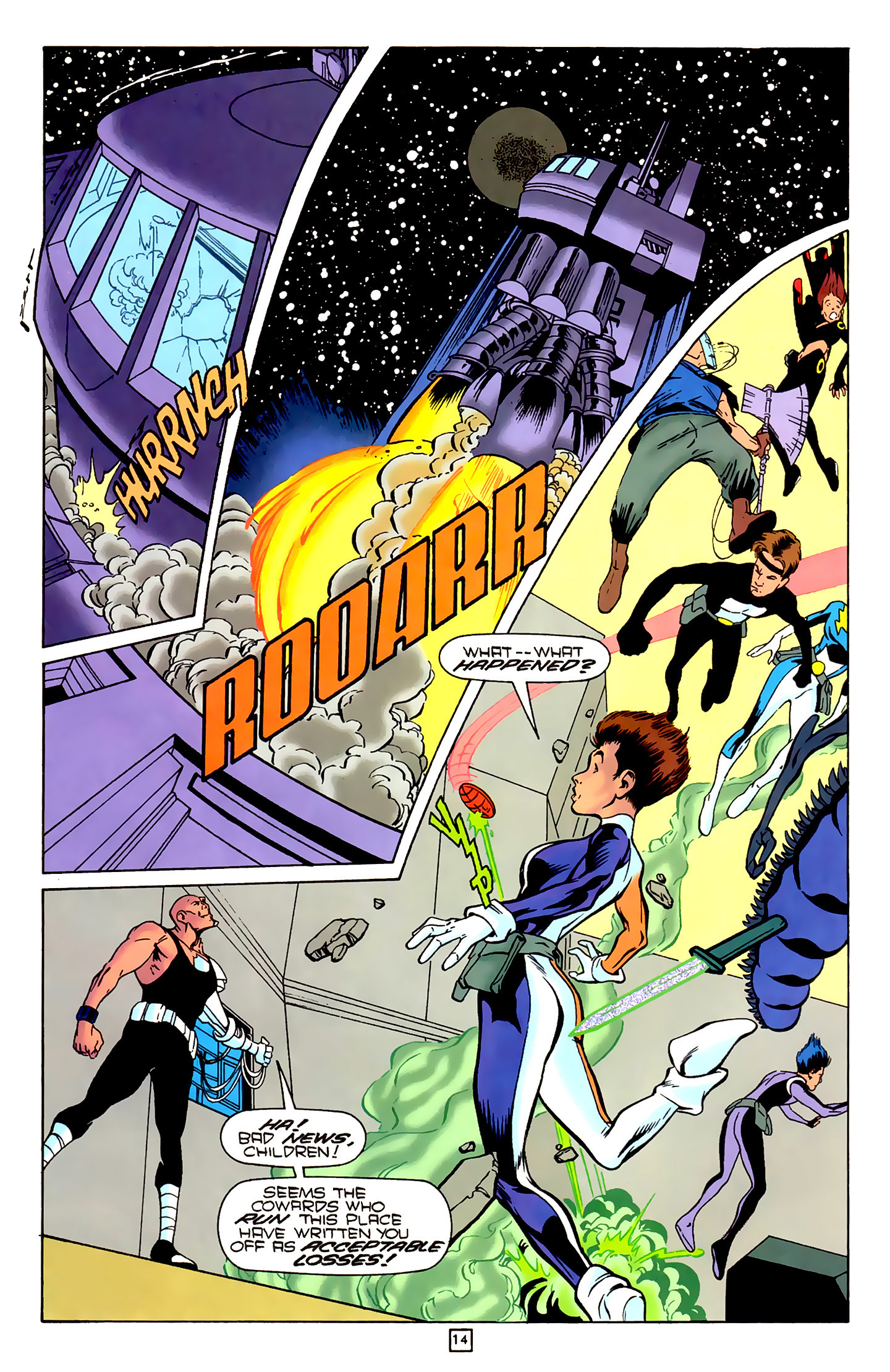 Legion of Super-Heroes (1989) 79 Page 13
