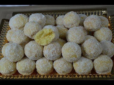 حلويات العيد 2017 : حلوة ريشبوند التقليدية بطريقة جديدة تذوب في الفم