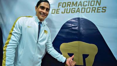 Palencia entrenador de Pumas
