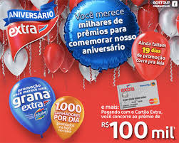 """Promoção """"ANIVERSÁRIO EXTRA 2015"""""""
