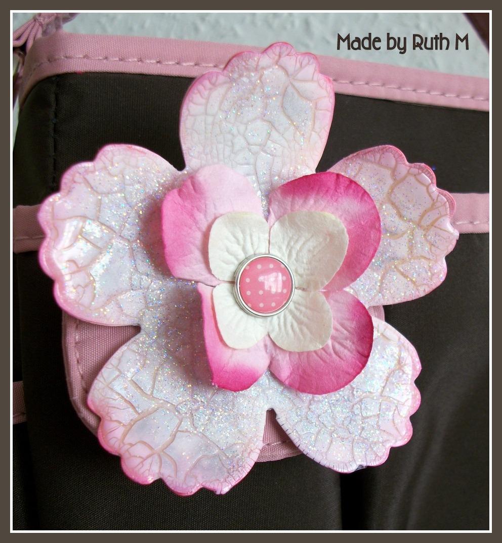 Flower Sparkle Flower Sparkle Craft Tote