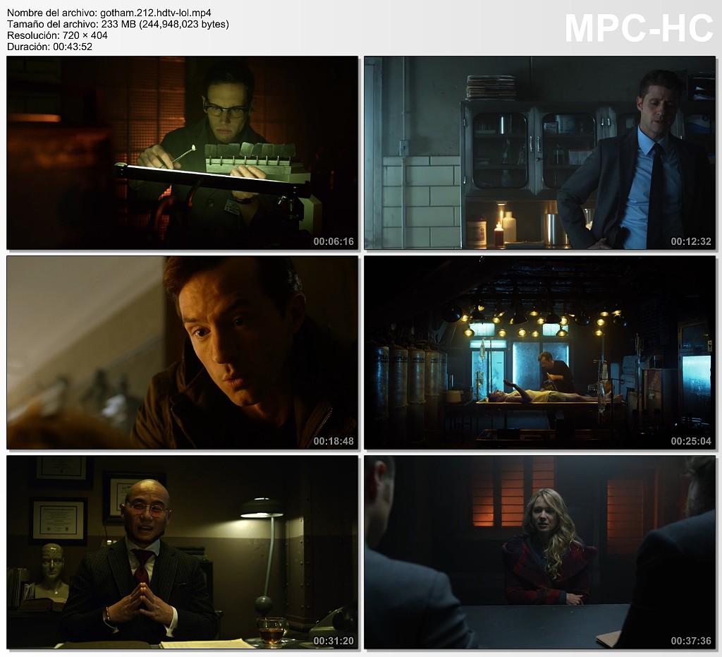 Gotham temporada 2 episodio 12 hdtv sub identi Gotham temporada 3 espanol
