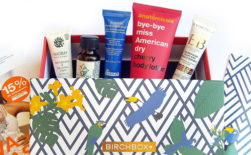 Birchbox de Agosto 2016 Tropical Love Brasil