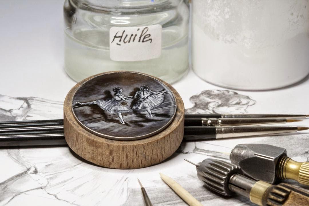 Artesanía en la relojería 41