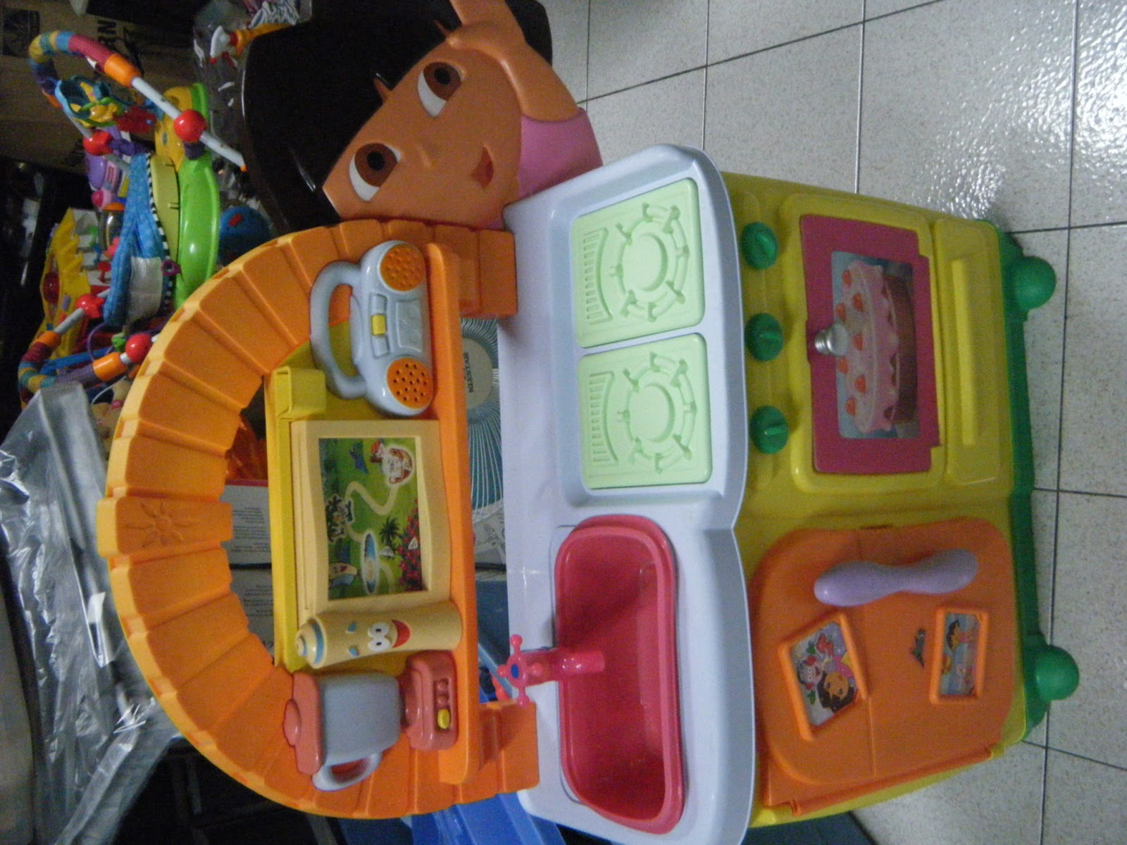 Mommyslove4baby143 Fisher Price Dora S Talking Kitchen